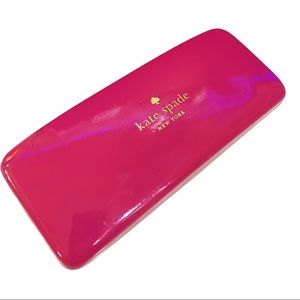 KATE SPADE NEW YORK Pink/Orange Sunglasses Case